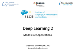 Deep Learning - Cours 2