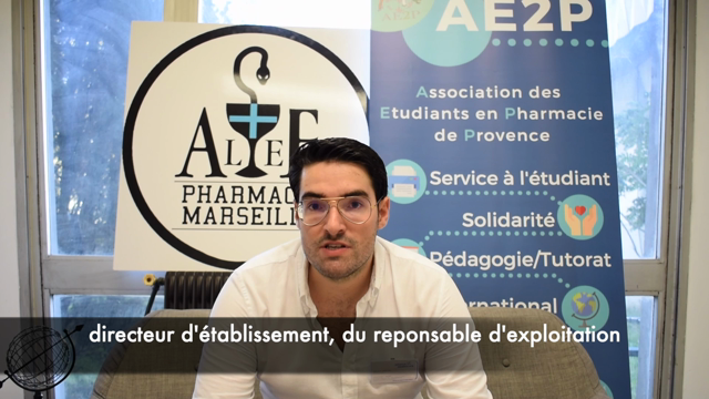 Pharmacien adjoint - Sébastien Angelini