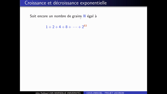 Introduction de la fonction exponentielle (partie 1)