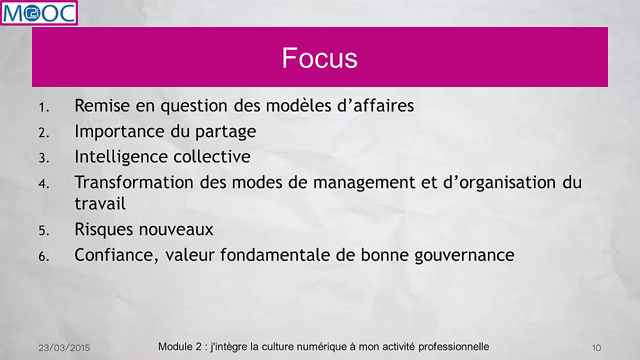 Mooc CNC De la culture numérique Documents