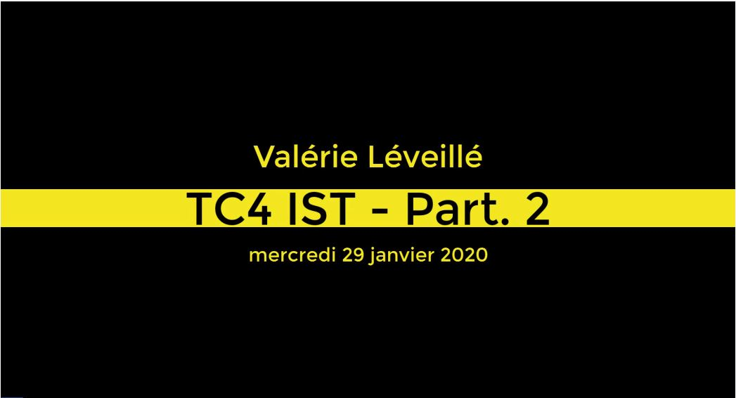 TC4 - Information scientifique et technique - Partie 2