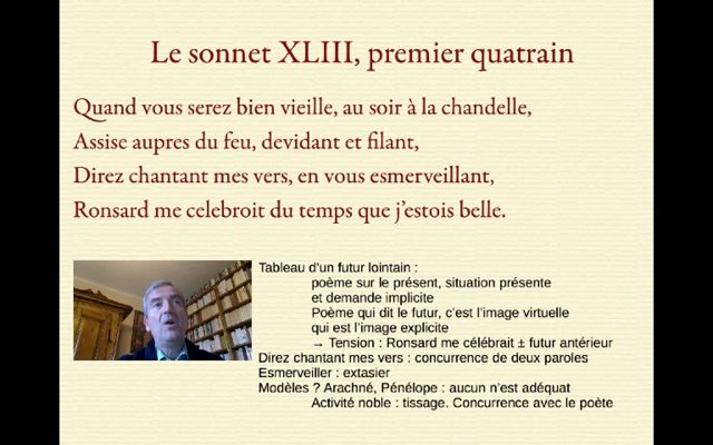 The time is out of joint I. Commentaire du sonnet 43 du Second livre des sonnets pour Hélène de Ronsard