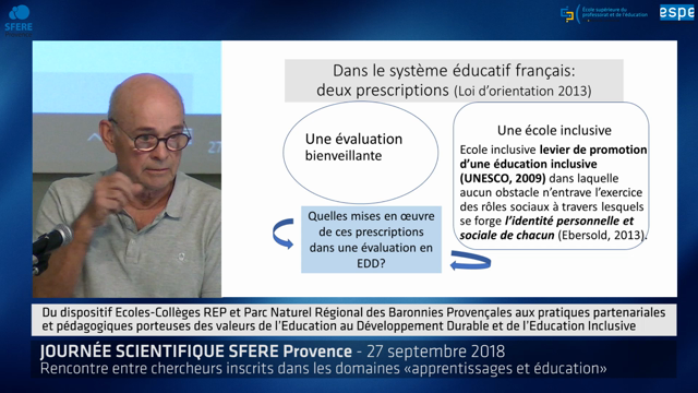 Journée scientifique SFERE Provence 2018