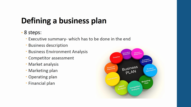 Structure Business Plan
